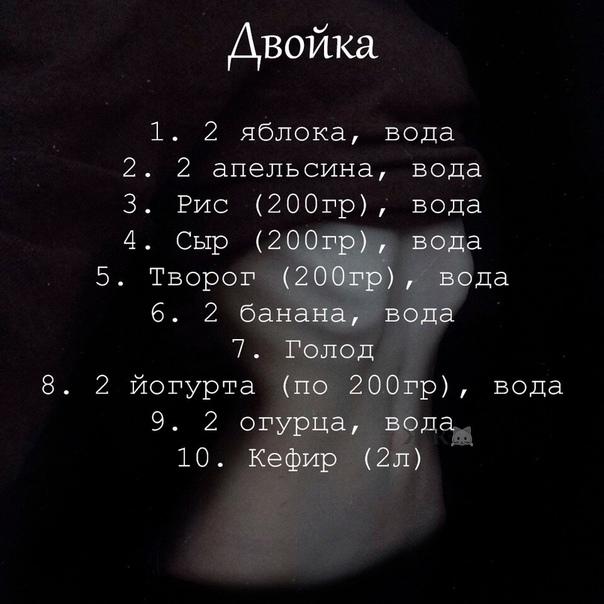 Диета 10 Дней 10 Кг