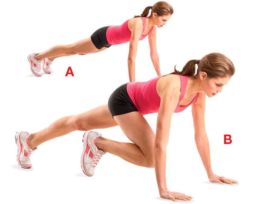 Как делать упражнение скалолаз?