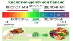 Продукты ощелачивающие организм: таблицы, советы
