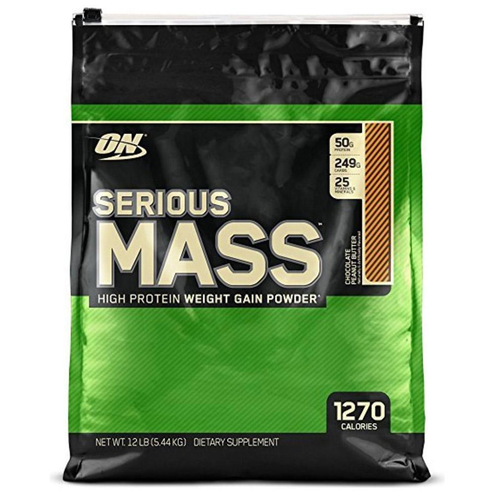 Serious mass 2727 гр - 6lb (optimum nutrition)