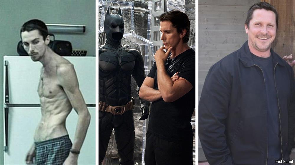 7 актеров, которые экстремально поправились ради роли