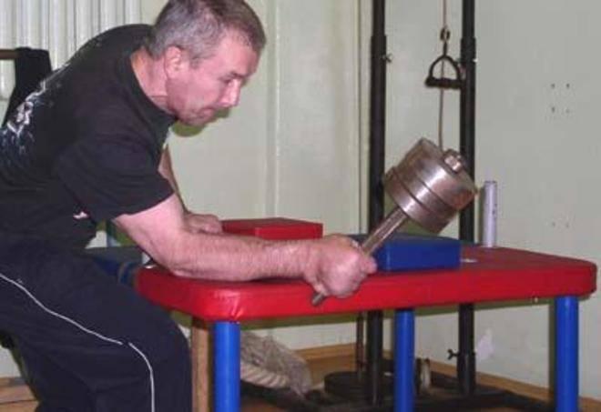 Какие нужно делать упражнения для армрестлинга