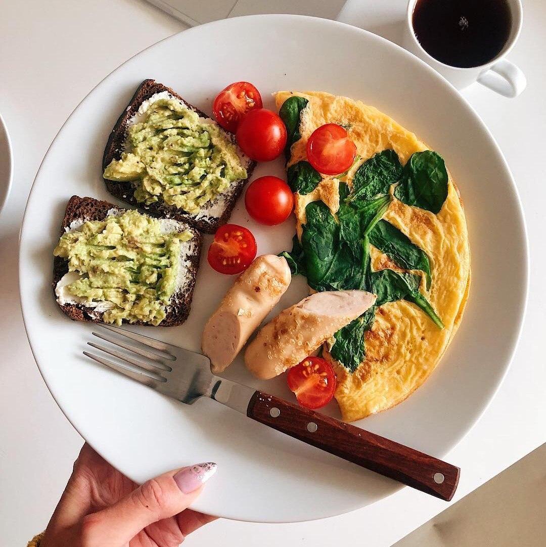 Завтрак для похудения и диет