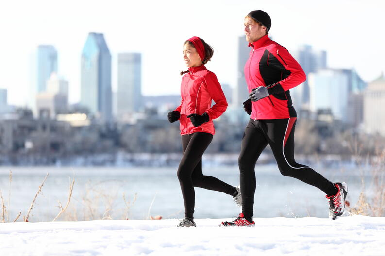 Бег зимой • лайвли — журнал здорового человека