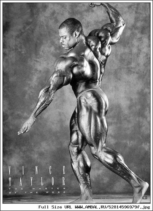 Винс тейлор – доверяя собственному телу | musclelife.ru