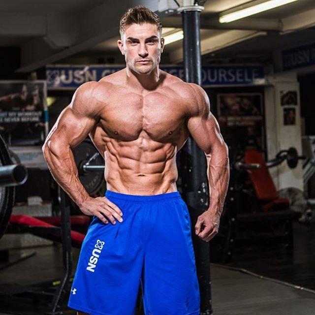 Райан терри – первый британский атлет в категории «men's physique»