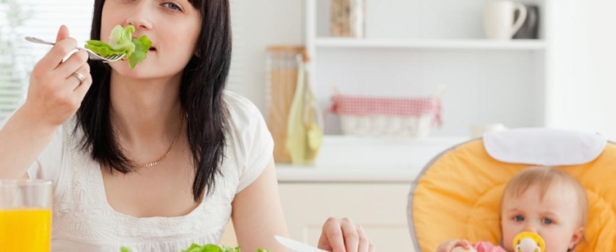 Как похудеть во время грудного вскармливания после родов, диета и упражнения для мам в домашних условиях
