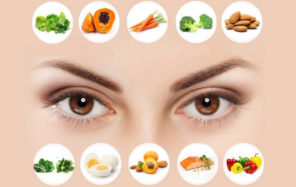 Продукты для улучшения зрения - что полезно для глаз