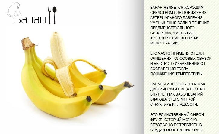 Польза и вред бананов, калорийность