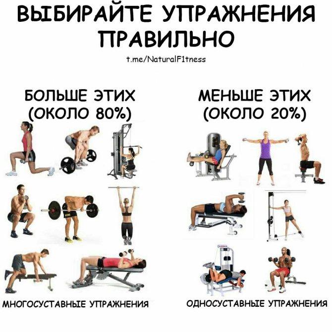 Набор мышечной массы: трёхдневный сплит.