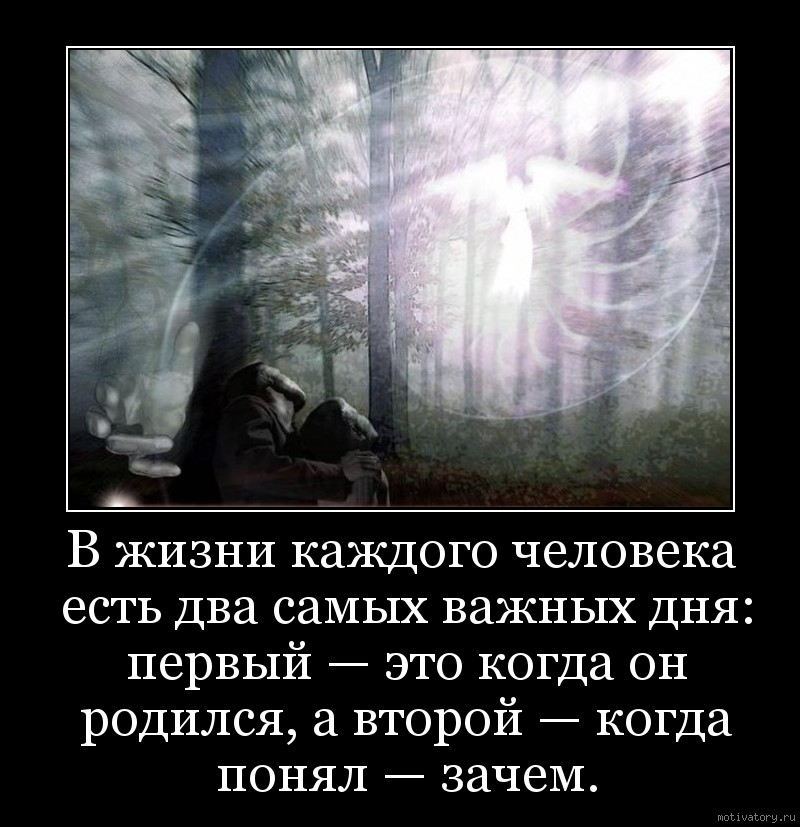 Что самое главное в жизни человека — понять себя