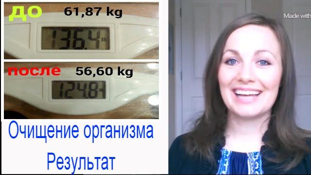 До и после голодания