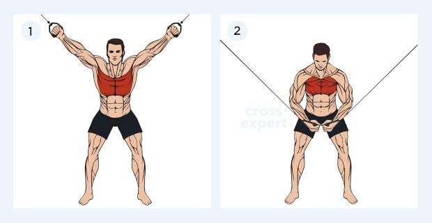 Кроссовер упражнения