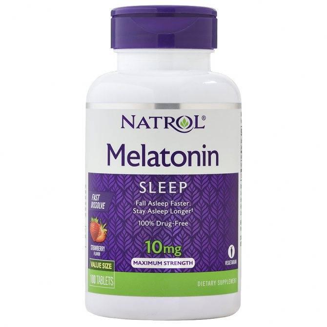 Мелатонин: инструкция по применению, польза и вред, отзывы