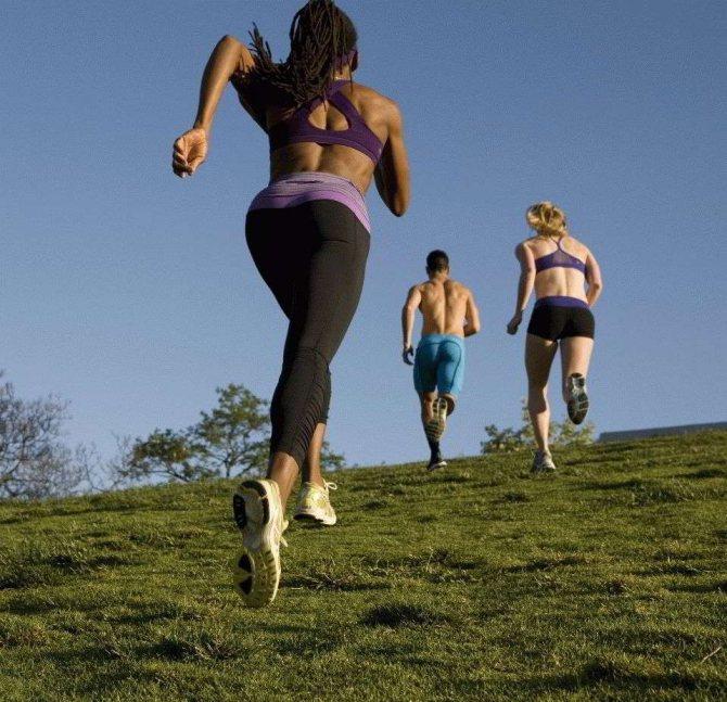 Интервальный бег: польза для похудения