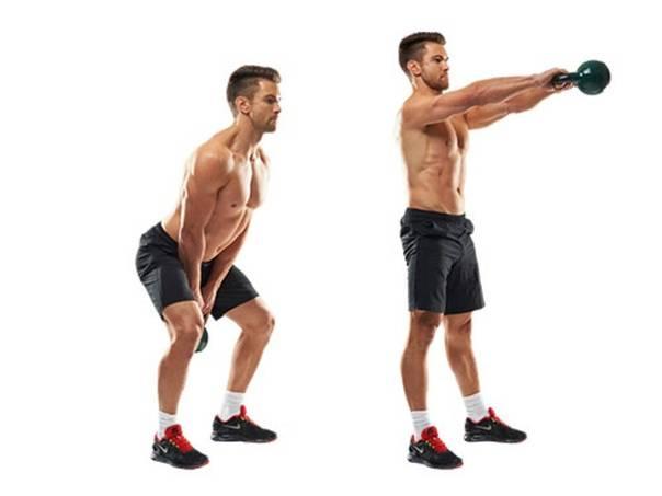 Тренировки с гирей в домашних условиях: топ-21 самых эффективных упражнений