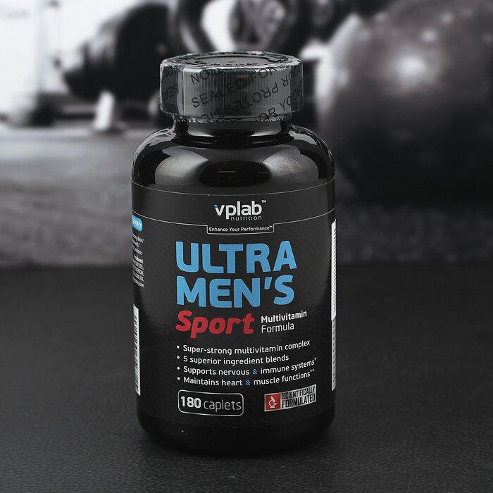 Ultra men's sport multivitamin formula 90 табл (vp laboratory) купить в москве по низкой цене – магазин спортивного питания pitprofi