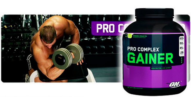 Pro complex gainer от optimum nutrition - спортивное питание на dailyfit