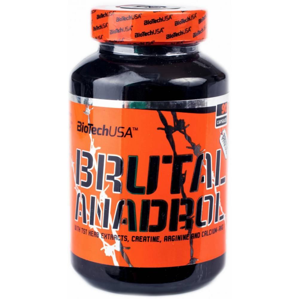 Brutal anadrol  90 капс (biotech usa) купить в москве по низкой цене – магазин спортивного питания pitprofi