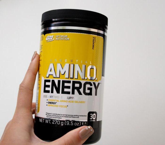 Amino energy naturally flavored 225 гр (optimum nutrition)
