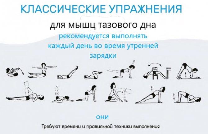 Гимнастика кегеля для женщин в домашних условиях