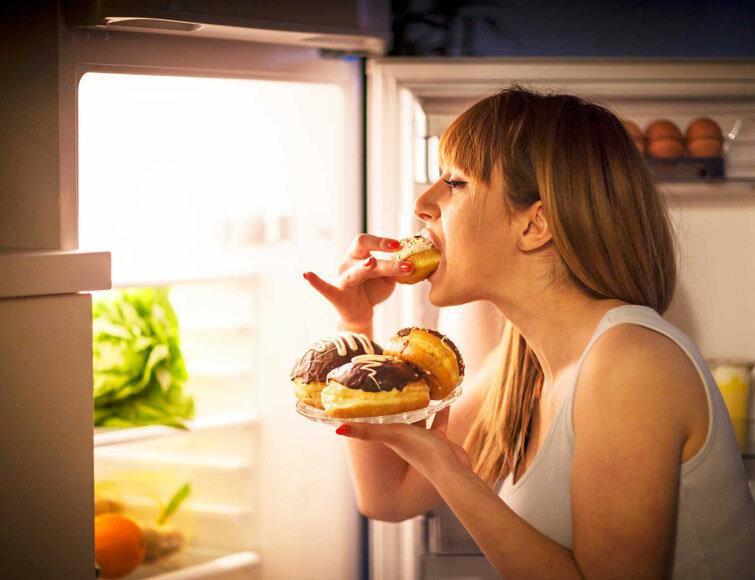 Компульсивное переедание: как бороться с обжорством - allslim.ru