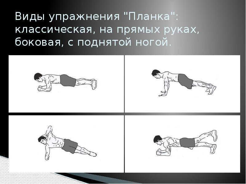 Динамическая планка - упражнение для всего тела