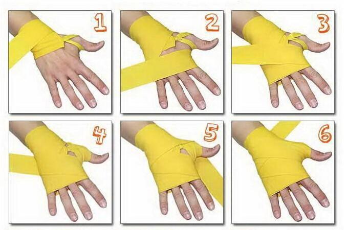Бинты для бокса: для чего нужны, различия. как правильно завязать бинты для бокса на руку пошагово: схема