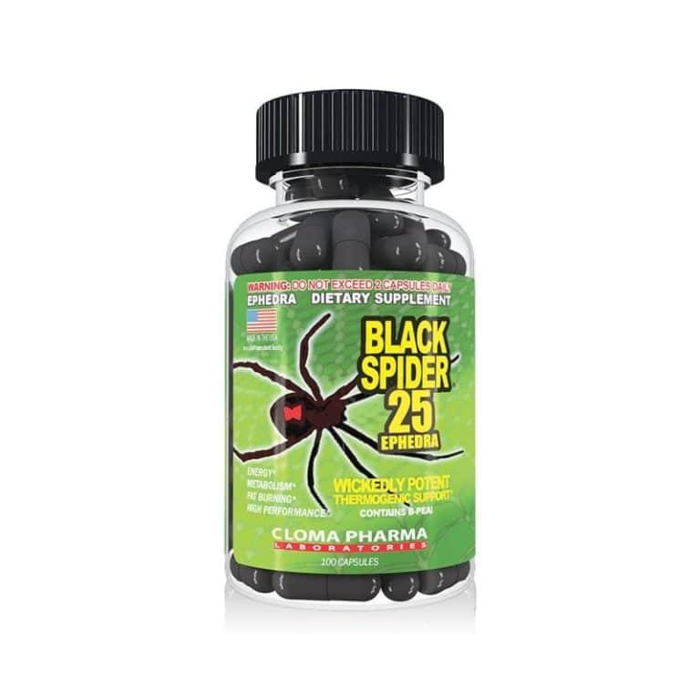 Жиросжигатель black spider 25 ephedra отзывы, как принимать | supermass.ru