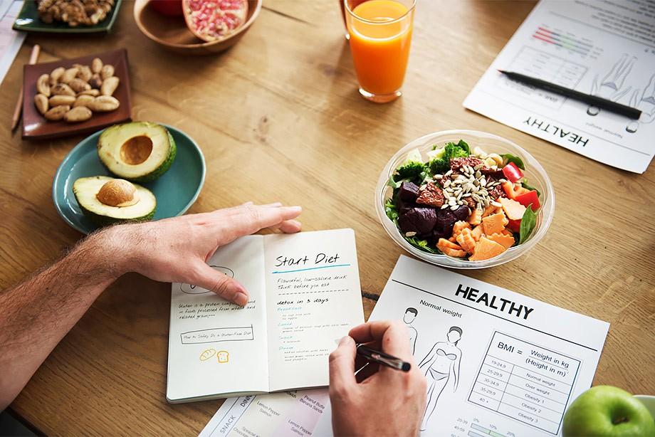 Индивидуальная программа питания для похудения до 8 кг в месяц