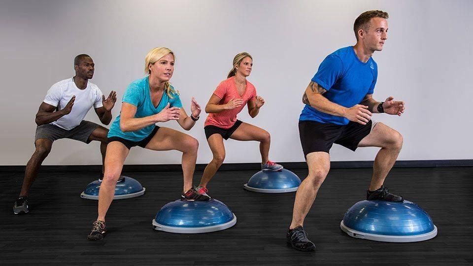Bosu, подушка, диск: с чем лучше выполнять упражнения на баланс