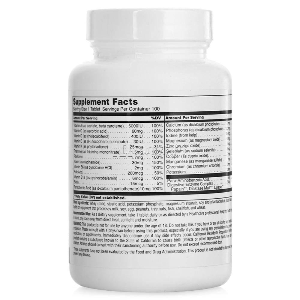 Daily formula: мощный витаминно-минеральный комплекс от universal nutrition