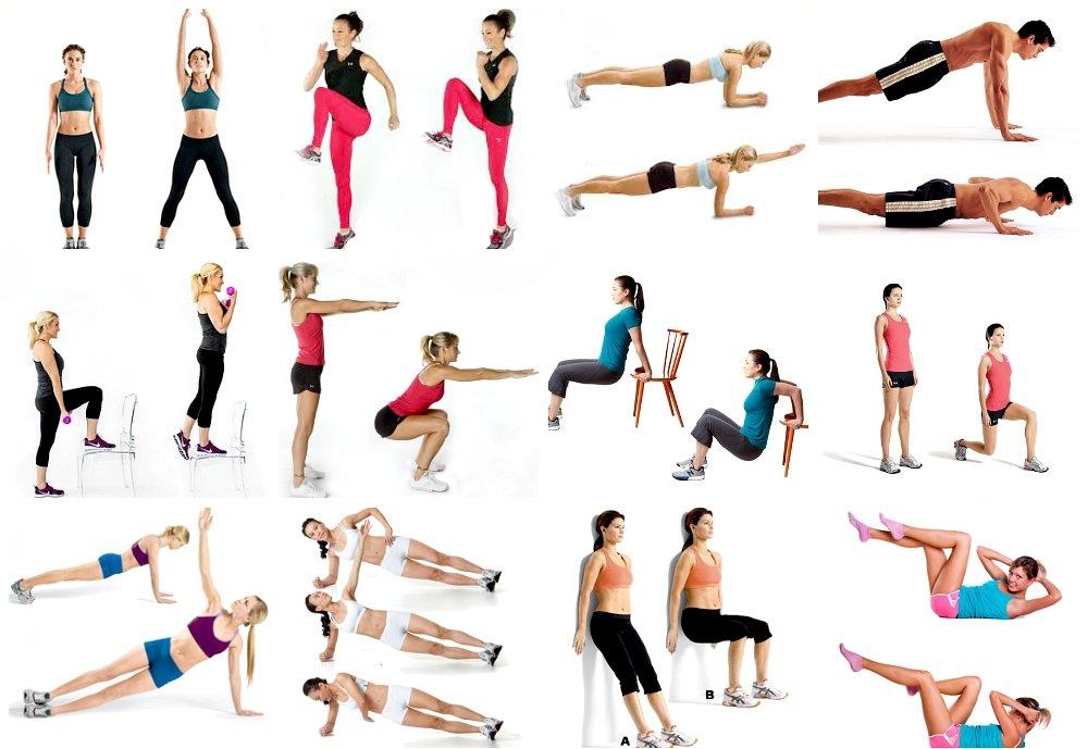 Гимнастика для похудения для начинающих в домашних условиях