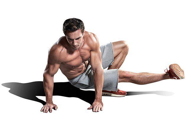 3 супер упражнения для мышц кора