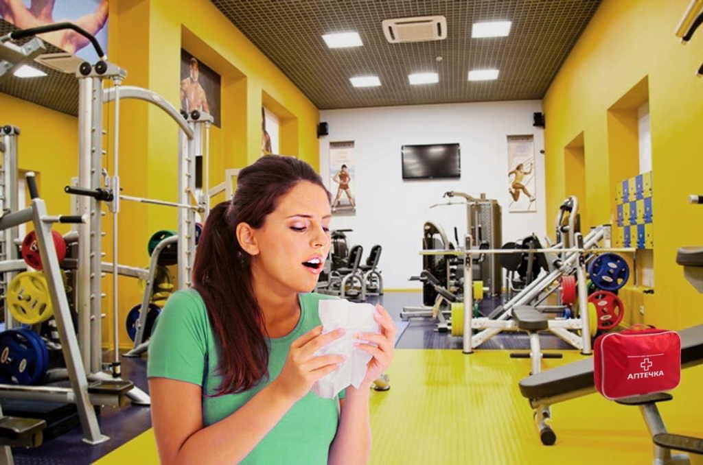 Тренировки во время простуды - можно ли заниматься