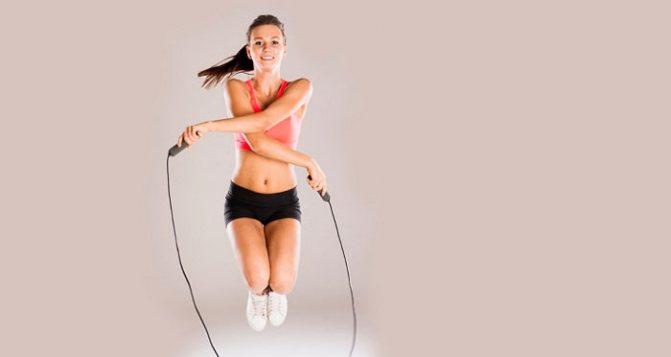 Прыжки на месте для похудения без скакалки дома: как и сколько прыгать?