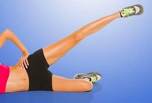 Подъем ног лежа на боку: техника выполнения, какие мышцы работают