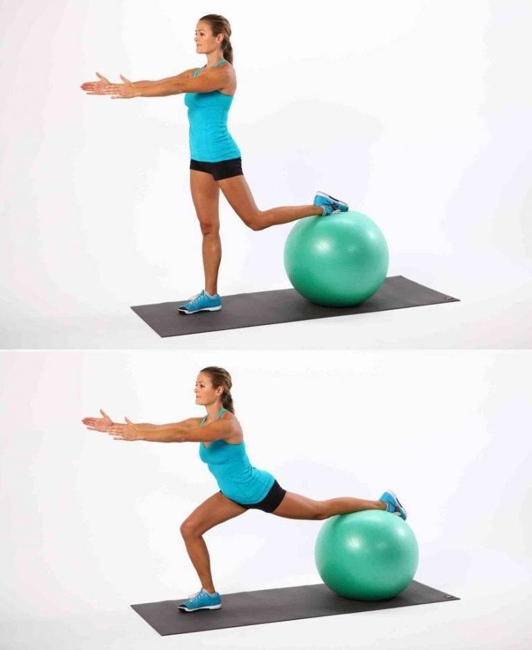 Знаменитые упражнения с мячом для фитнеса: для пресса и для похудения