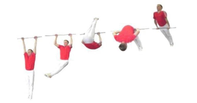 Горизонтальные подтягивания: виды, техника выполнения упражнения