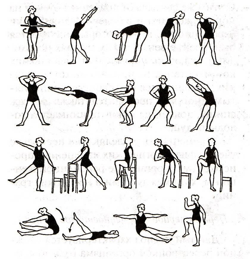 Правила проведения гигиенической гимнастики с утра