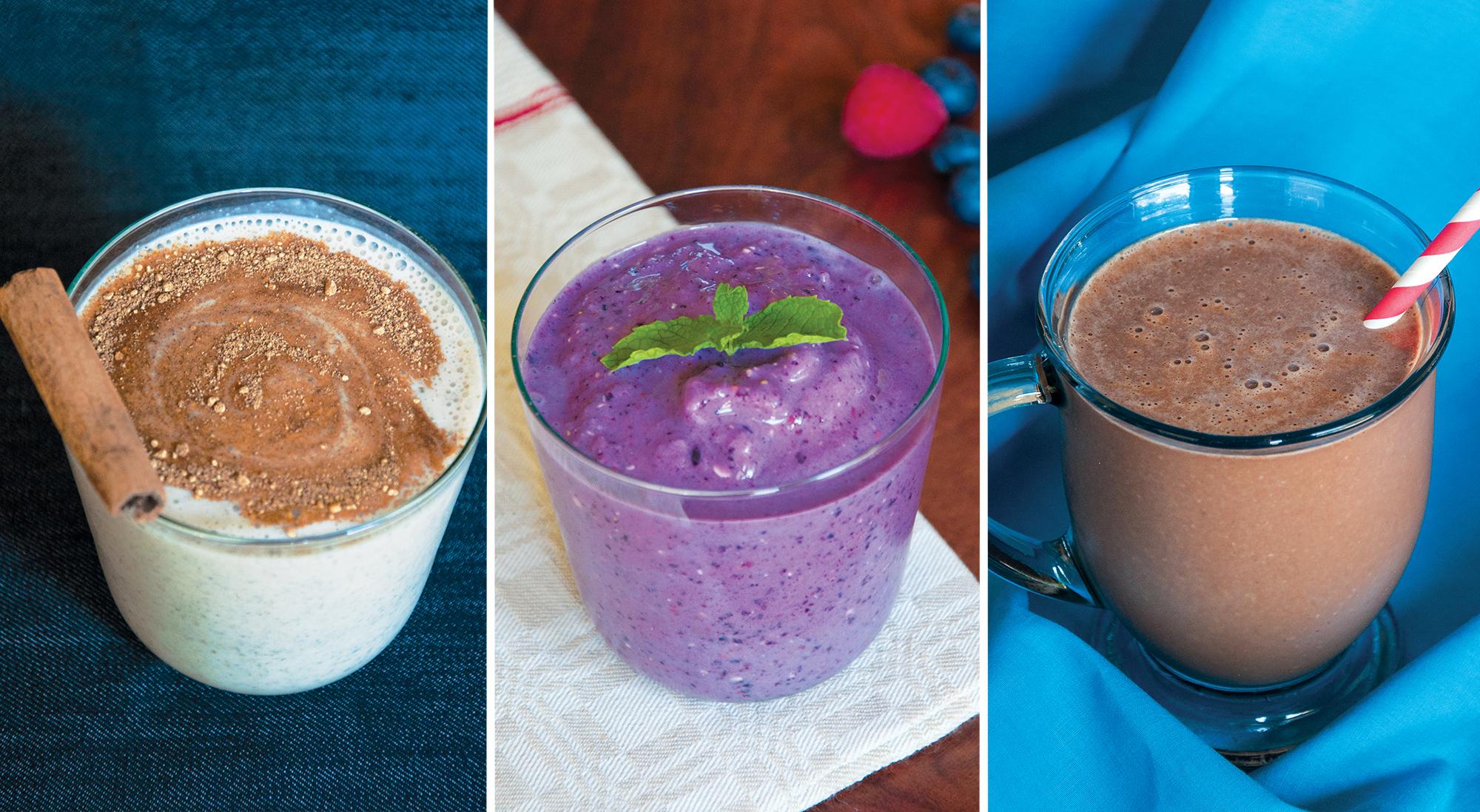 Домашние протеиновые коктейли и напитки