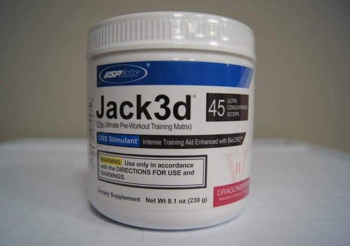 Интенсивные тренировки с предтреником jack3d от usplabs