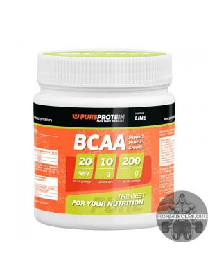 Порошок bcaa pureprotein: состав, способ приема, стоимость