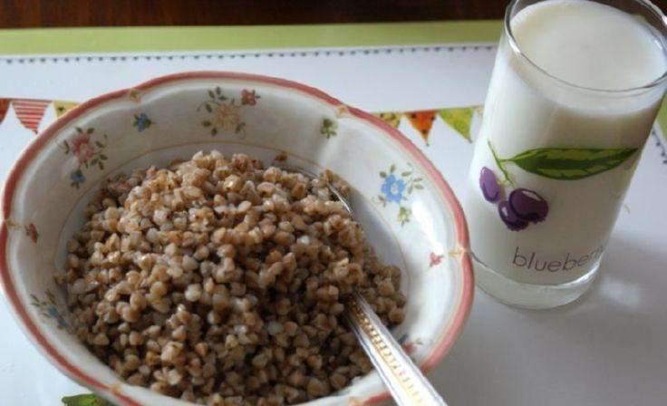 Гречка с кефиром для похудения по утрам: рецепты