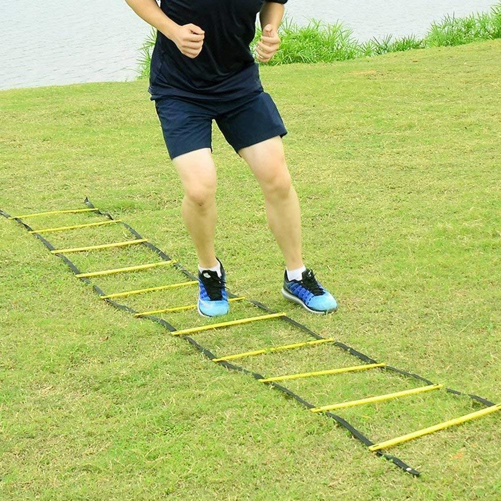 Комплекс упражнений с координационной лестницей