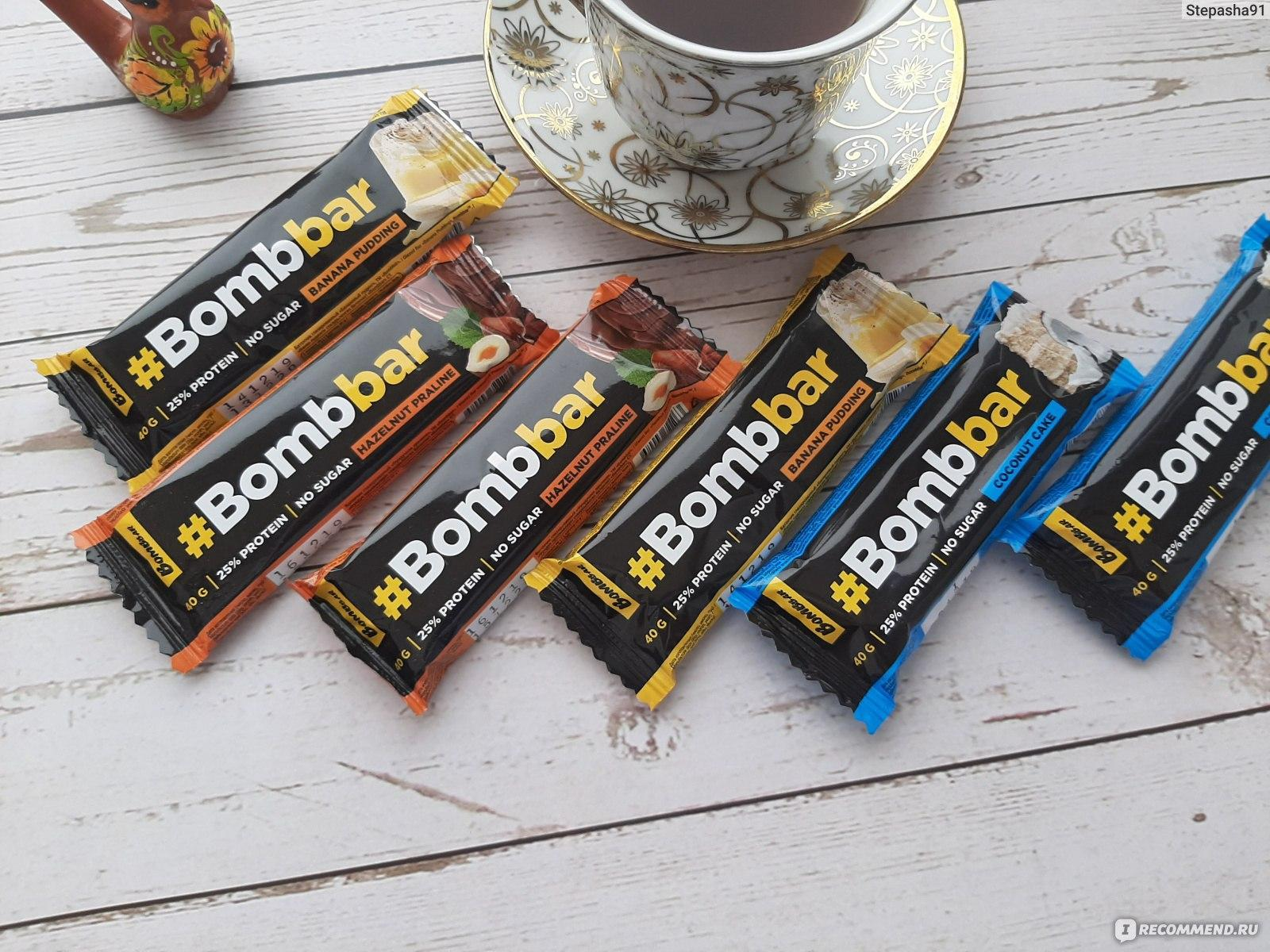 Bombbar (протеиновый батончик): состав, вкус, время приема