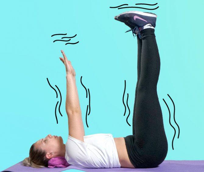 Упражнения для разгона лимфы