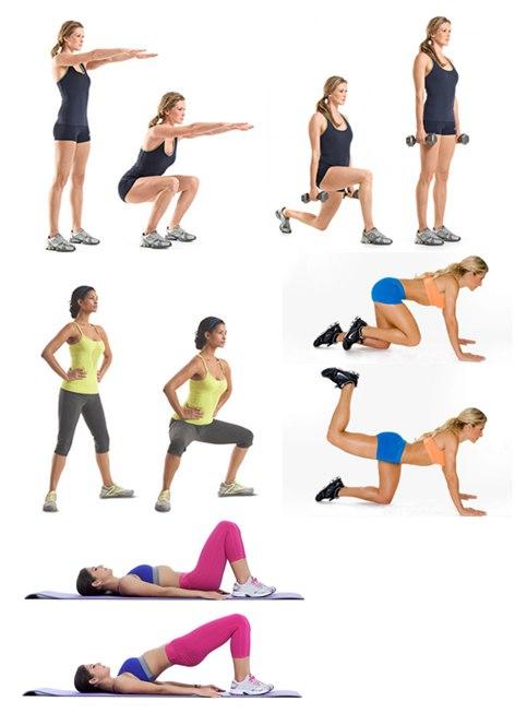 Как быстро уменьшить попу: лучшие упражнения в домашних условиях