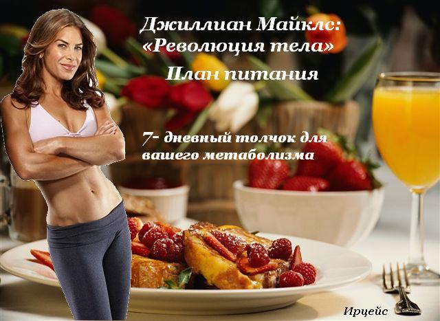 Система правильного питания при тренировках
