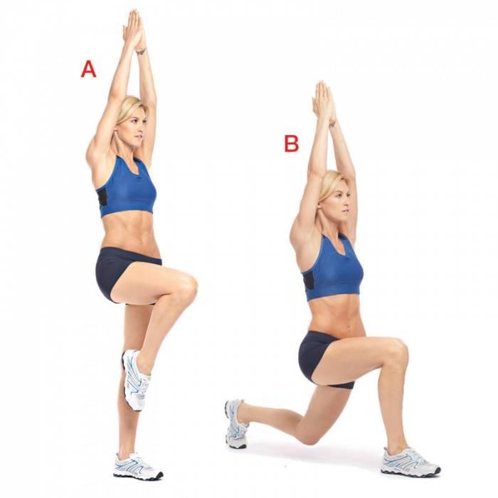 Лучшие упражнения для похудения живота, ног, бедер, боков, рук и ягодиц